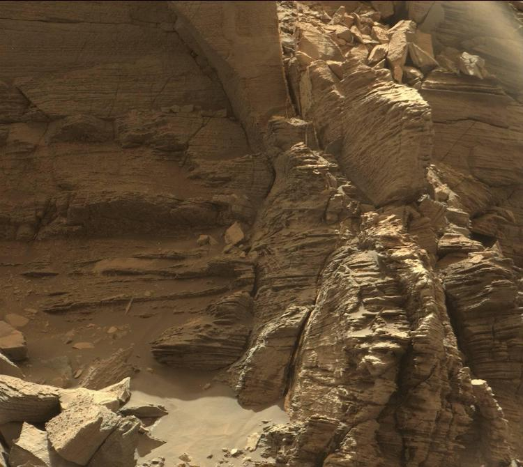 Murray Buttes Mars