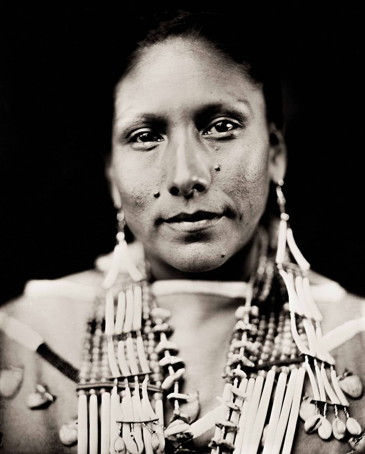 Portrait of Northern Plains Native American