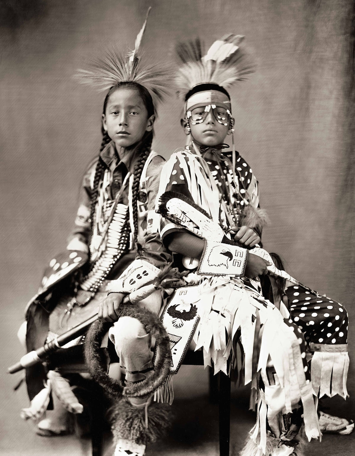 Native American Wet Plate Photography Portraits by Shane Balkowitsch