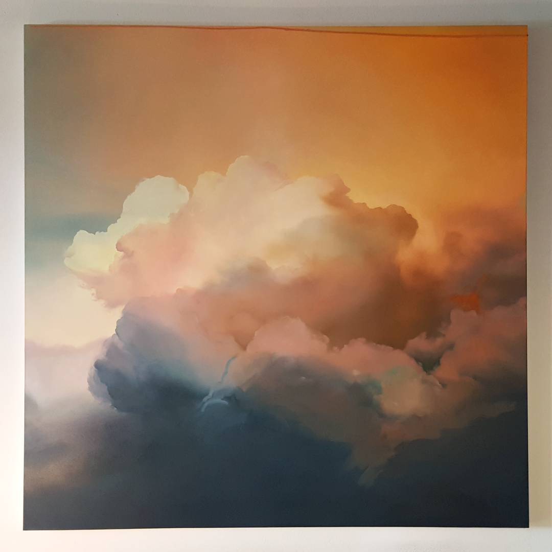 Cloud Oil Paintings by Ian Fisher