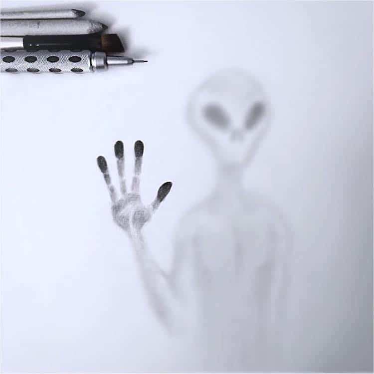 Dibujo de sombras por Willie Hsu