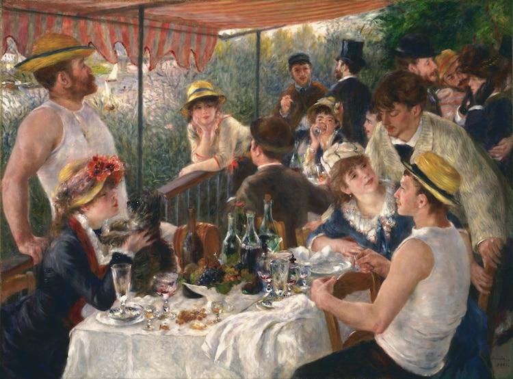 verano en el impresionismo