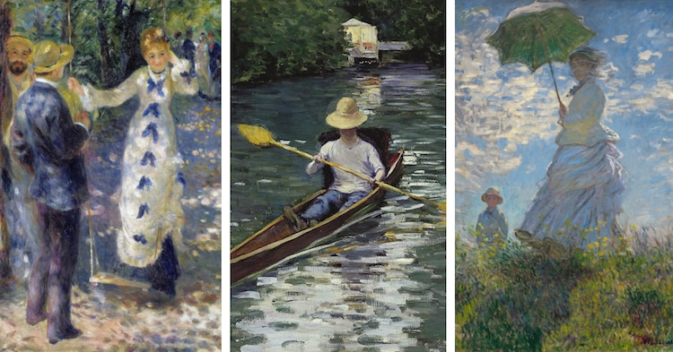 Impressionist Paintings of Summer