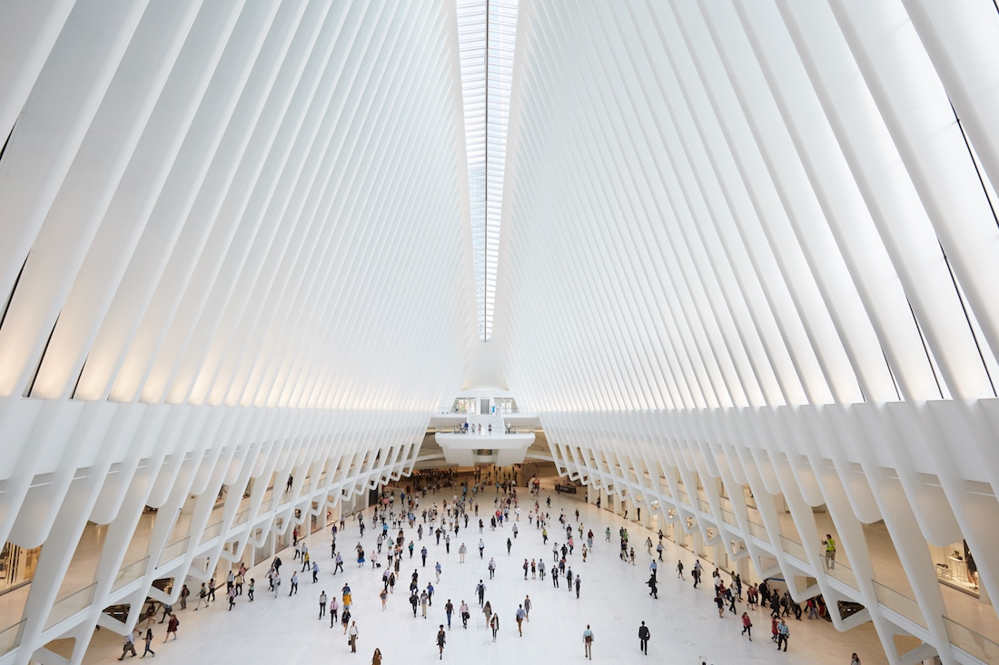A Look At The Oculus A New York City Transportation Hub And