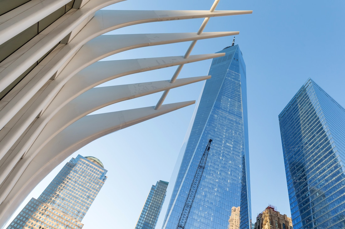 A Look at the Oculus, a New York City Transportation Hub and