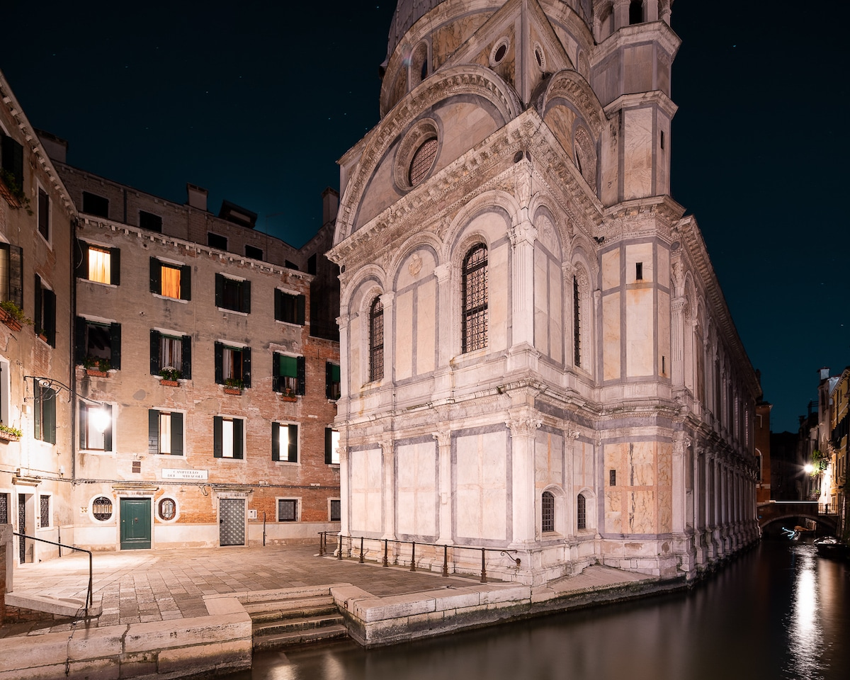 Venice at Night by Thibaud Poirier