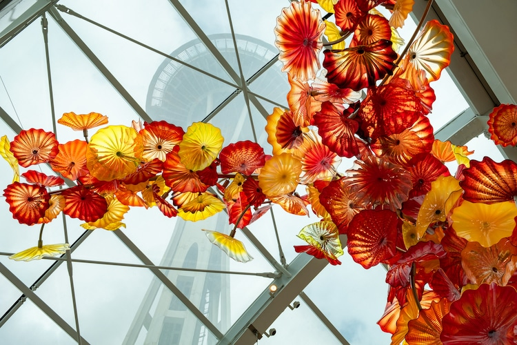 Dale Chihuly Garden in Seattle