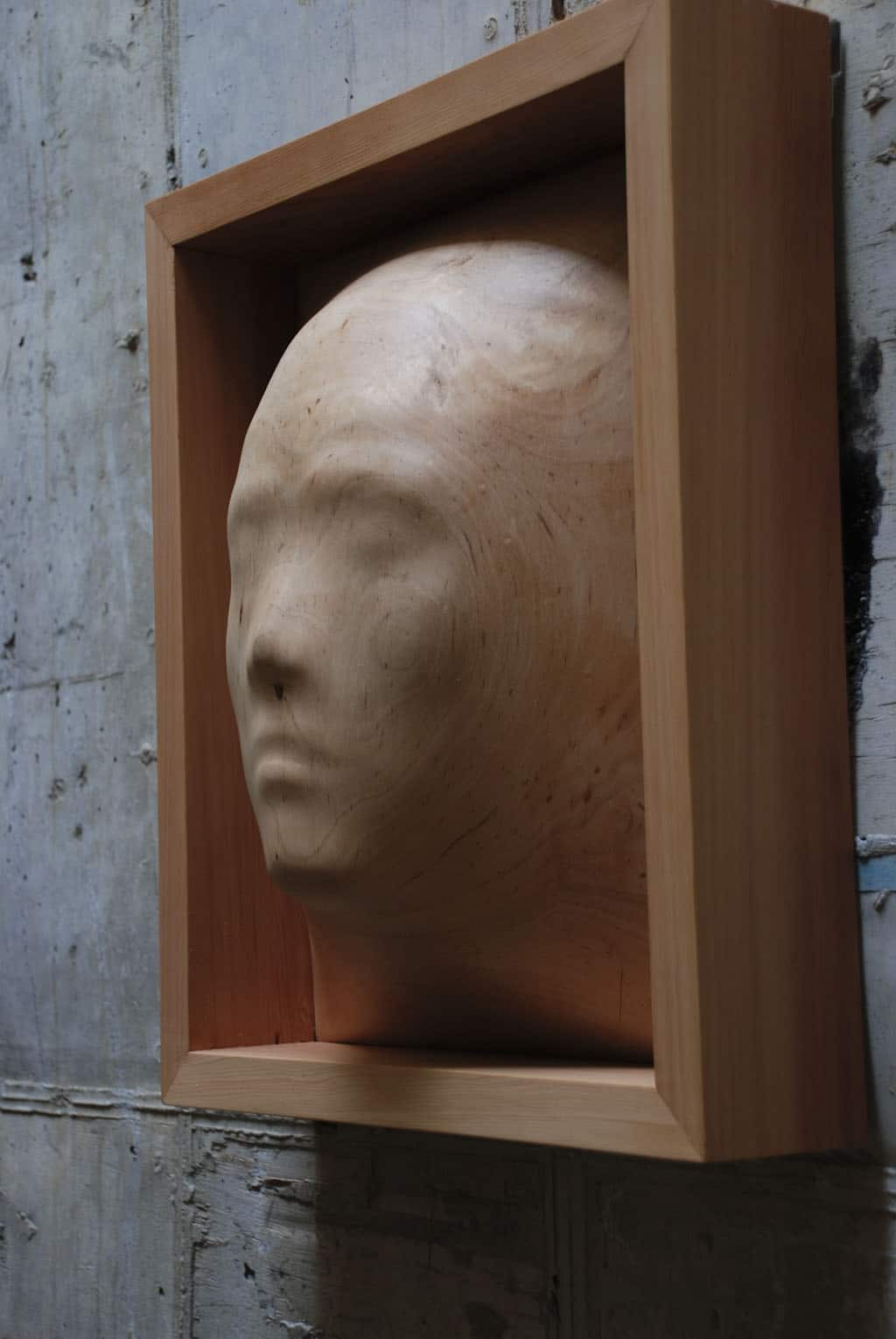Tung Ming-Chin Wood Sculpture
