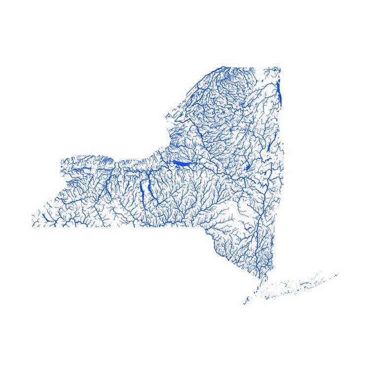 ríos de Nueva York