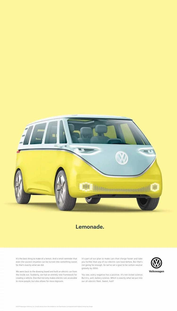 ID Buzz VW Advertisement