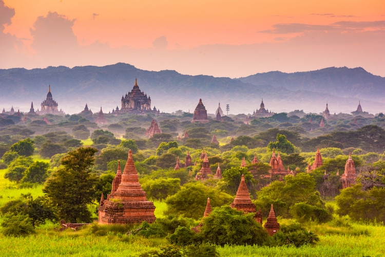 Bagan, Myanmar - UNESCO World Heritage List