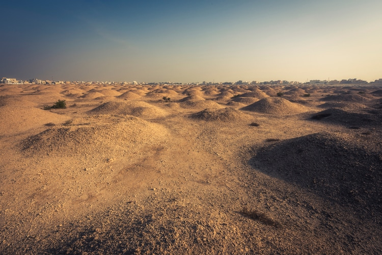 Dilmun Burial Mounds in Bahrain