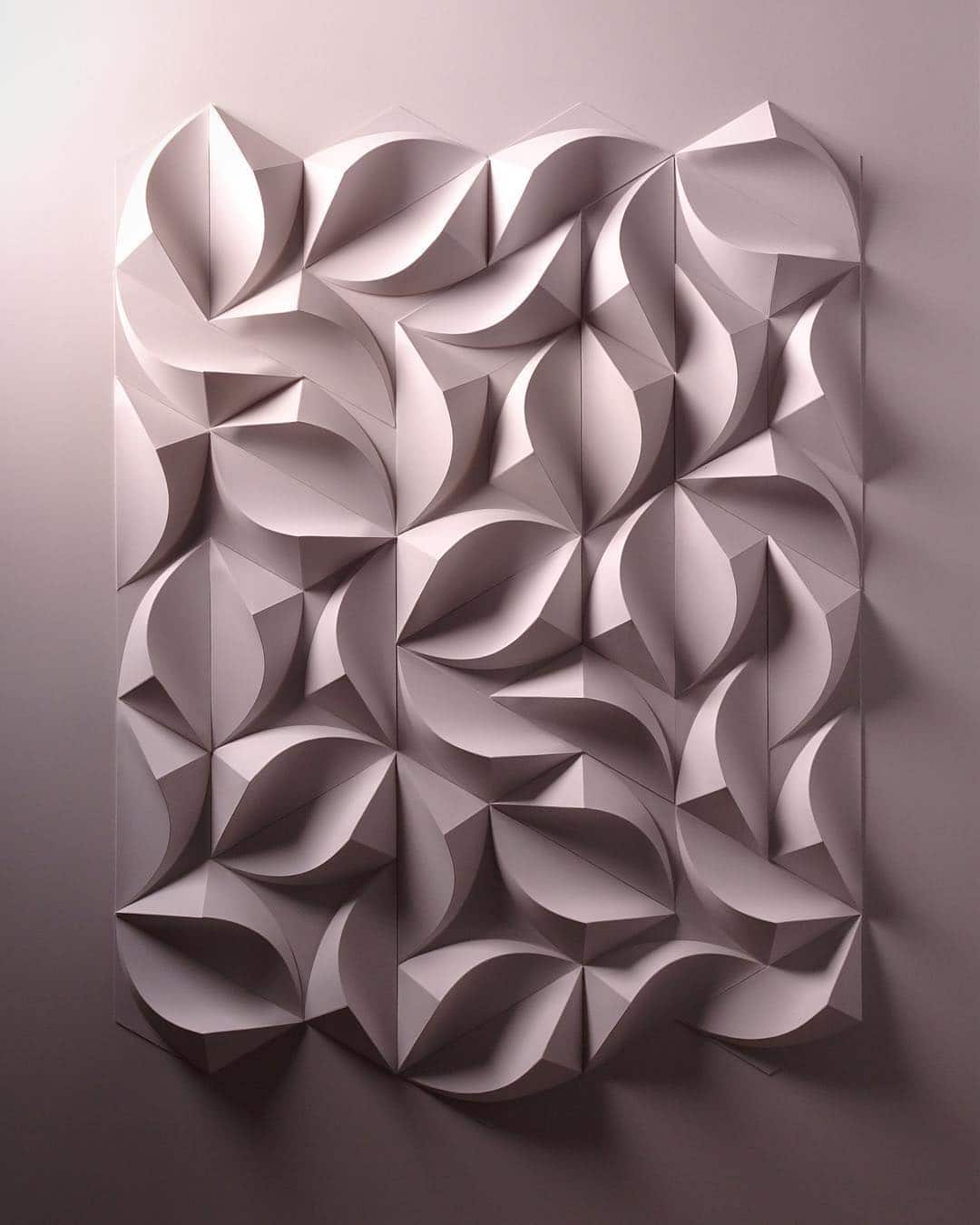 3D Paper Sculpture Art by Matthew Shilian