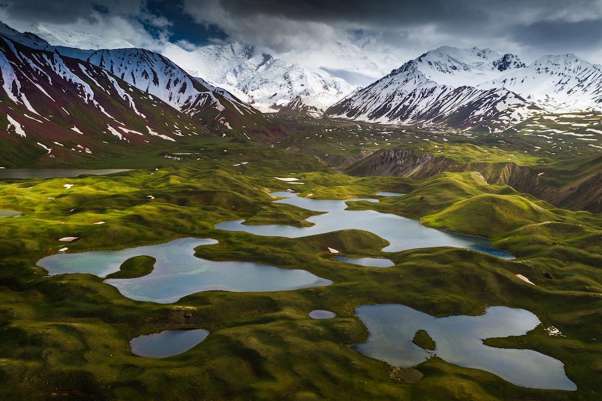 Lenin Peak in Kyrgyzstan