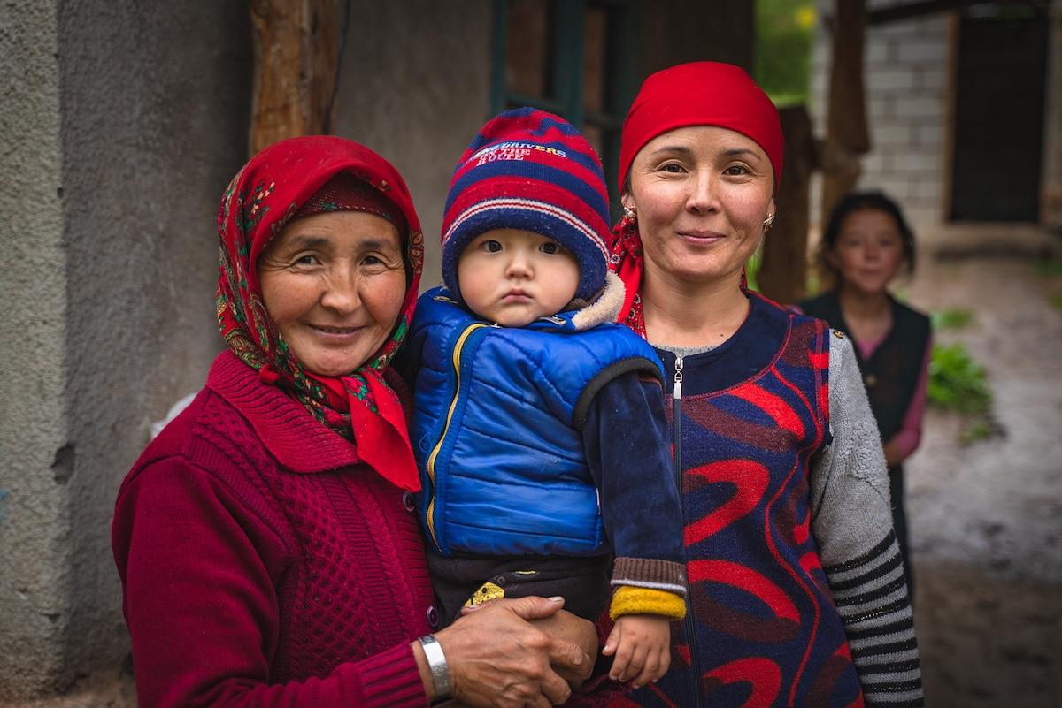 Women and Children in Kyrgyzstan