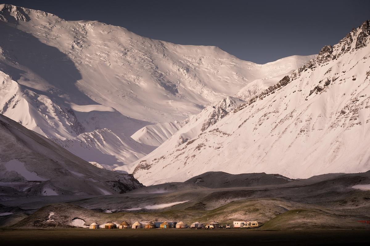 Dramatic Kyrgyz Republic Mountains