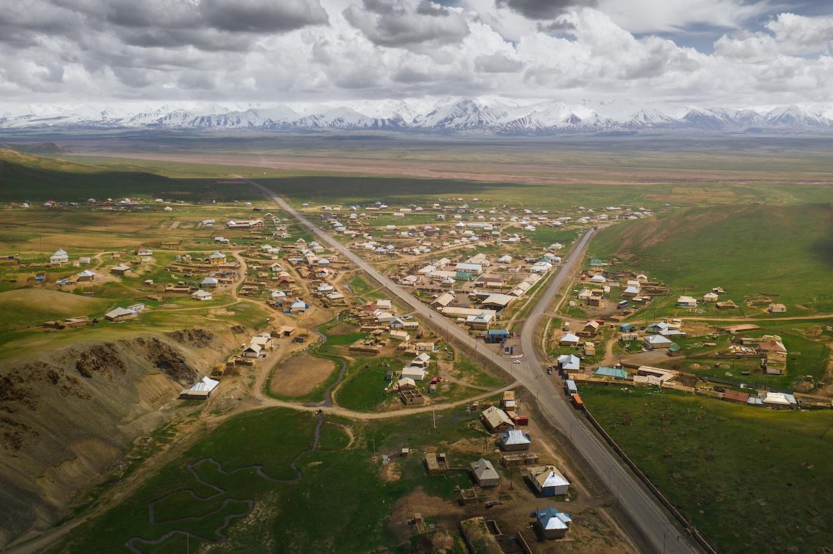 Village in Kyrgyzstan