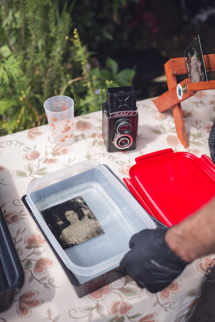 Wet Plate Photography Processing