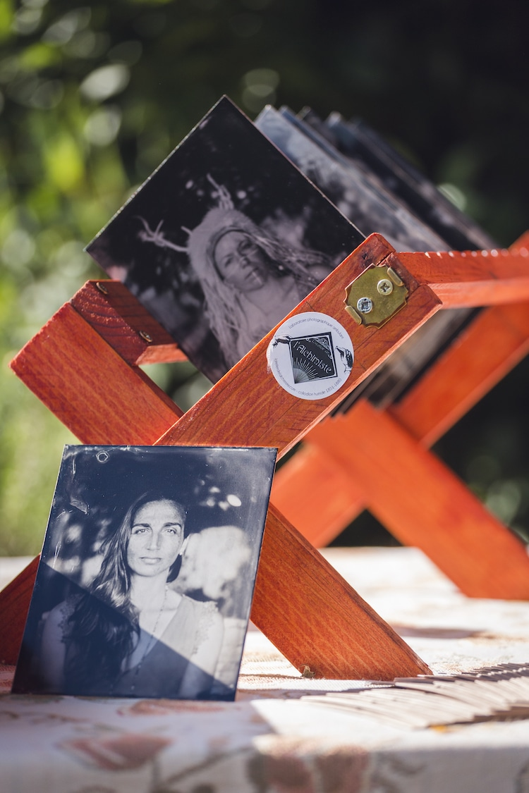 Wet Plate Photos Drying