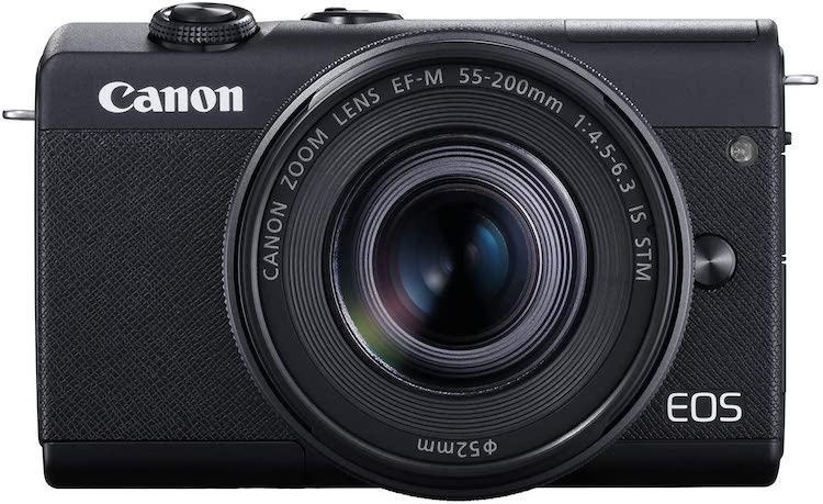 Canon EOS M200 Compact Mirrorless Digital Vlogging Camera