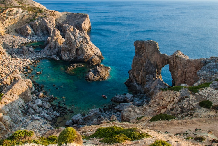 Incentive to Live on Antikythera Island in Greece