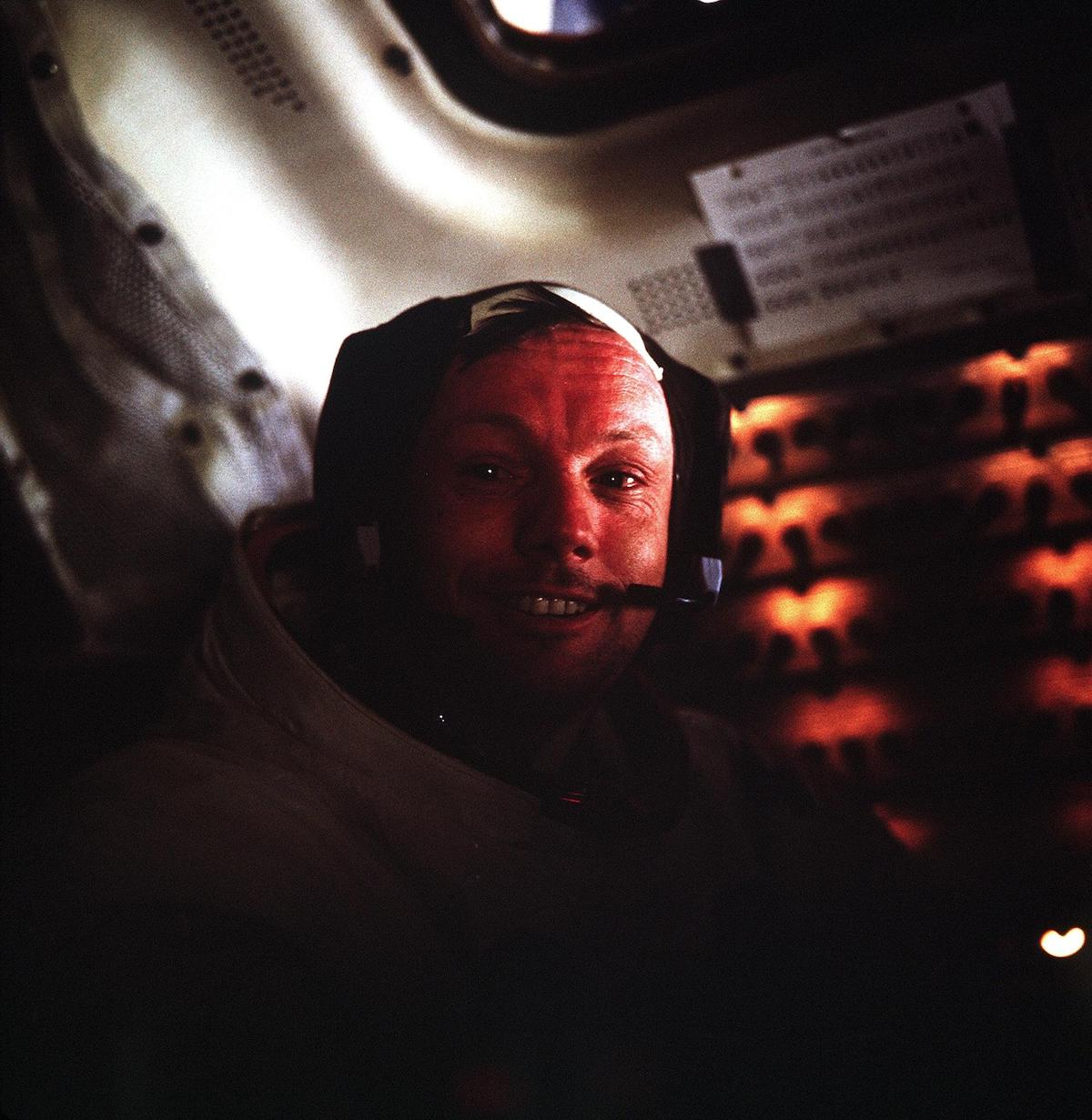Portrait of Neil Armstrong