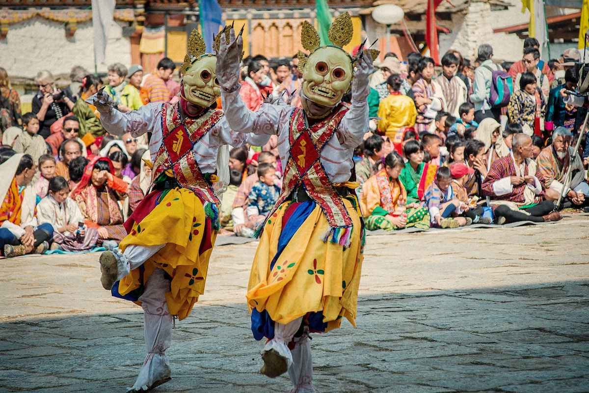 Cham Dance in Bhutan