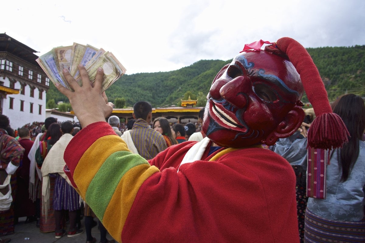 Tsechu en Bután