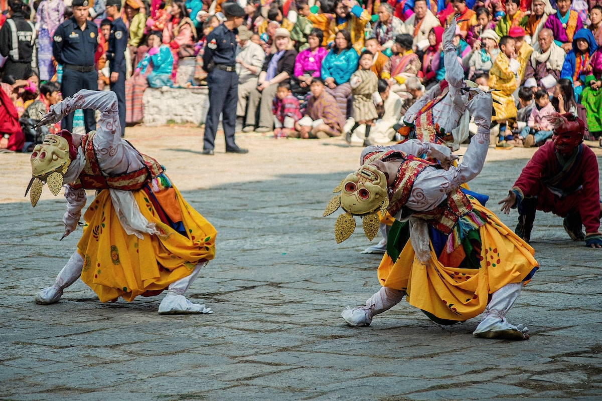 Traditional Dance in Bhutan