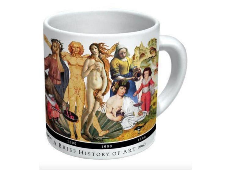 Taza de historia del arte