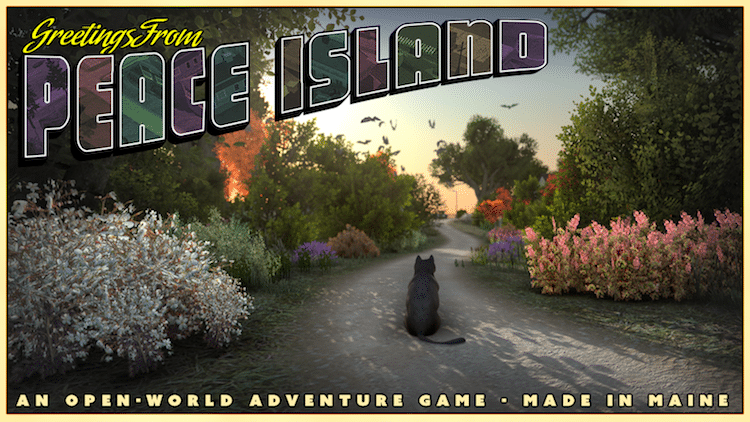 Cat Video Game Peace Island by Eric Blumrich