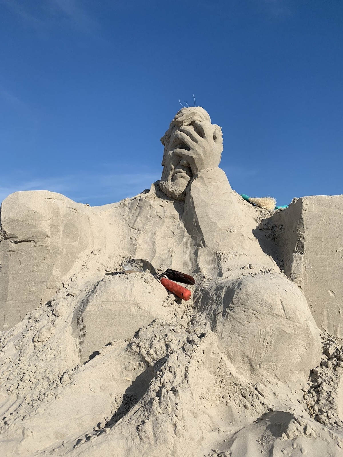 Sand Sculpture by Damon Langlois