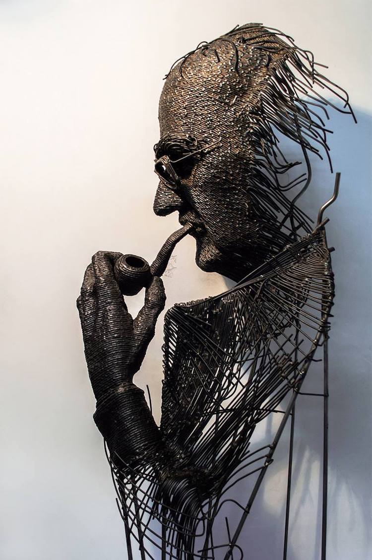 Metal Sculpture by Darius Hulea