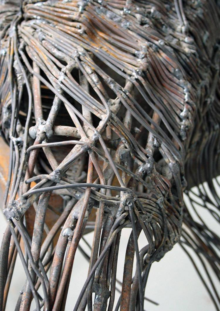 Metal Sculptures by Darius Hulea