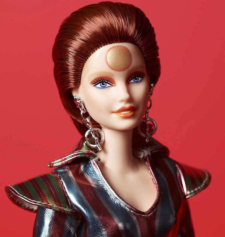 David Bowie Barbie Doll Commemorates the 50th Anniversary of