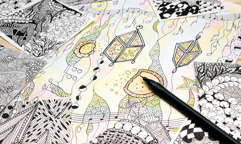 Cup Doodle: TiK ToK on the clock, but the party don't stop ...   Doodle Art Tiktok Doodles