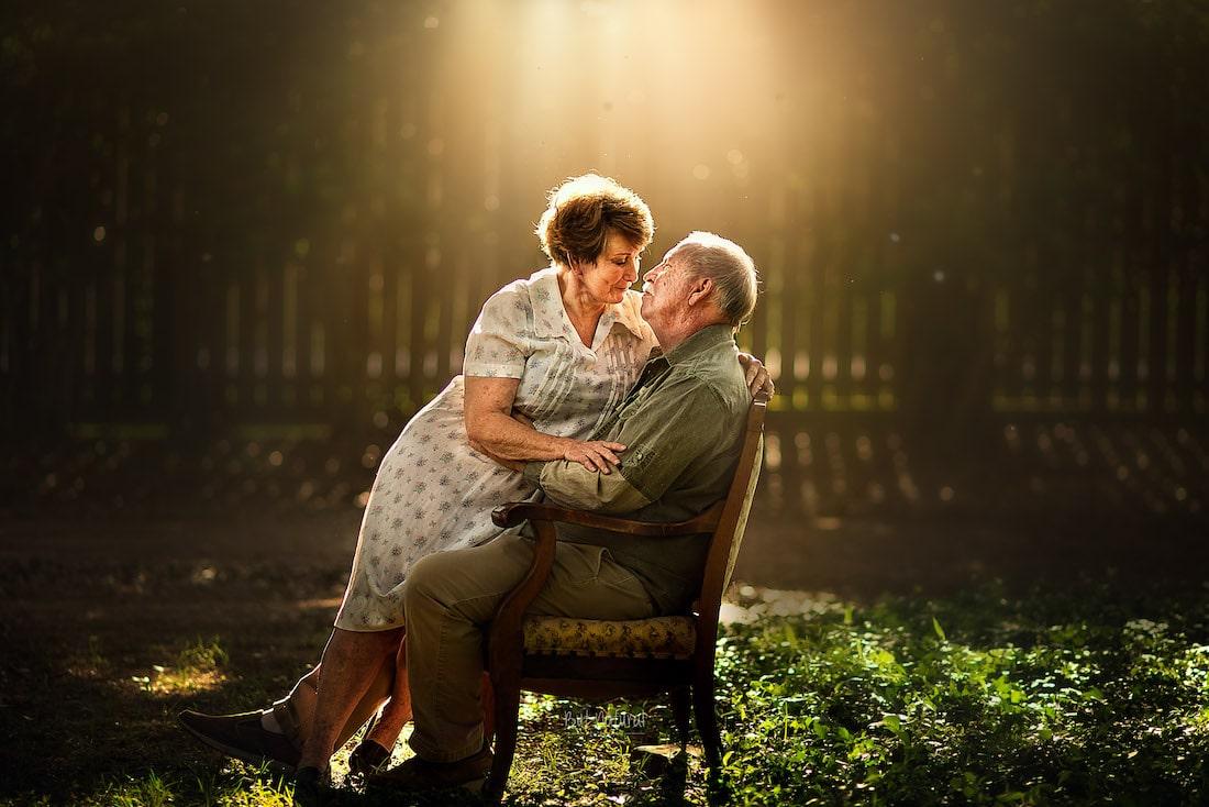 Photos of Elderly Couples