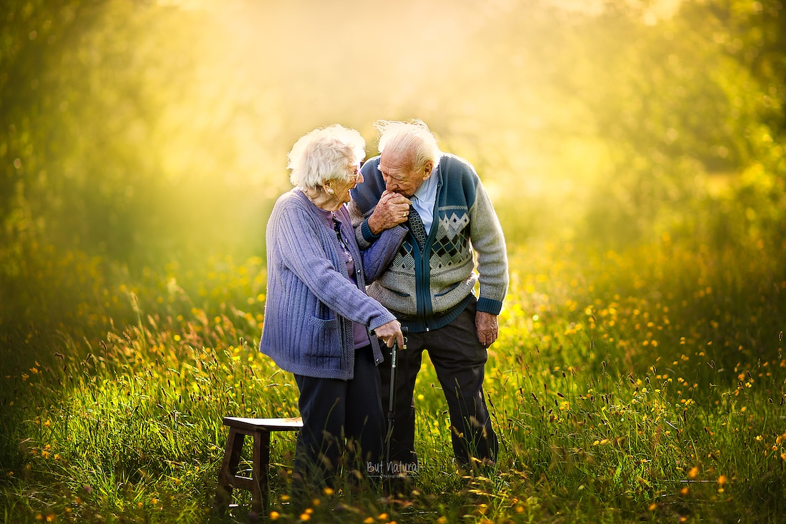 Photos of Elderly Couples
