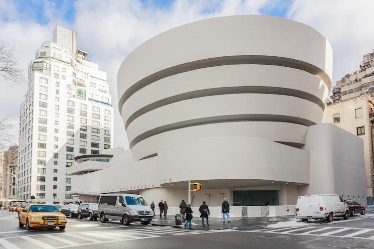 Museo Guggenheim por Frank Lloyd Wright