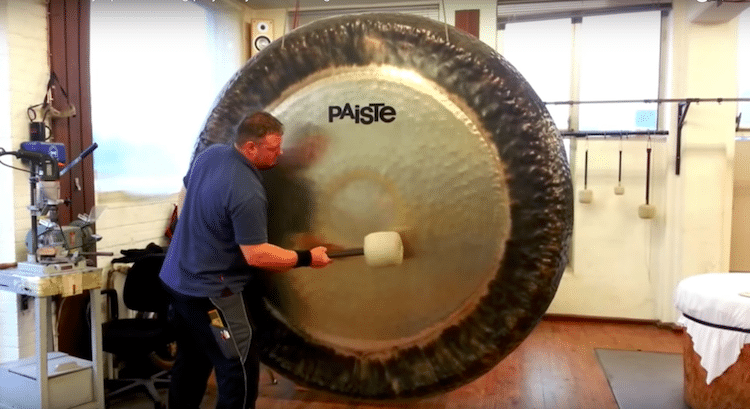 Gong Sound by Wind Chimes Australia