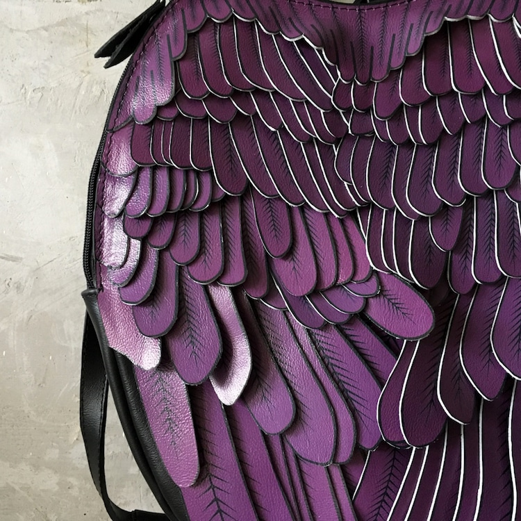 Mochila con alas