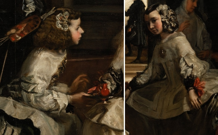 Ladies in Waiting in Las Meninas