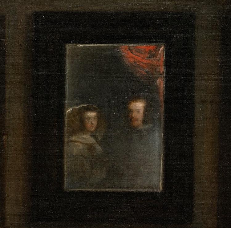 Philip IV and Mariana in Las Meninas