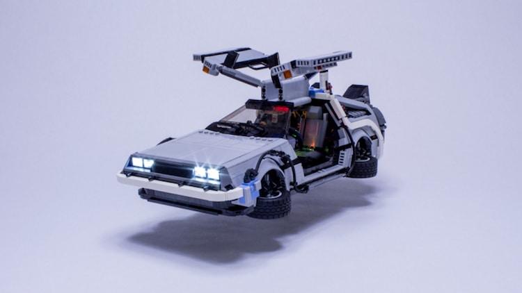 LEGO Delorean