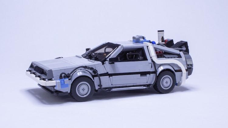 Delorean de LEGO