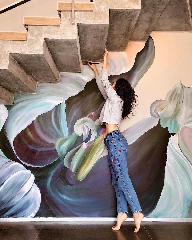 Murales creativos por Lilit Sargsyan