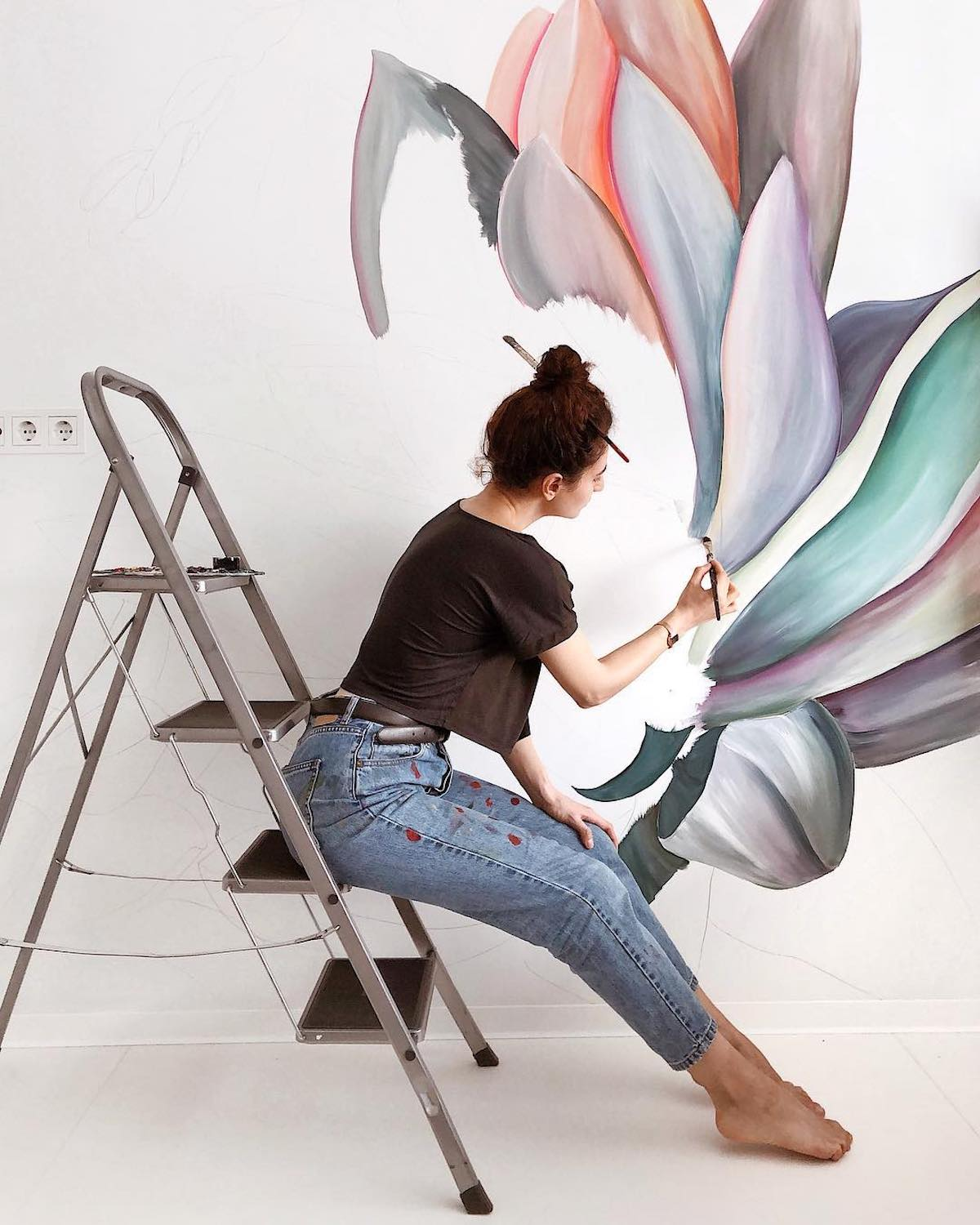 Wall Mural Art by Lilit Sargsyan