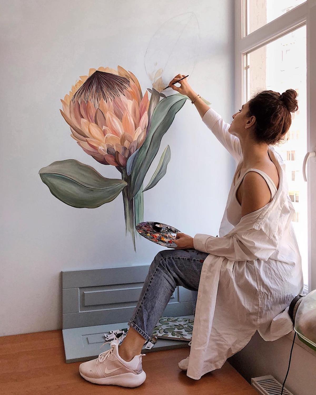 Mural creativo por Lilit Sargsyan