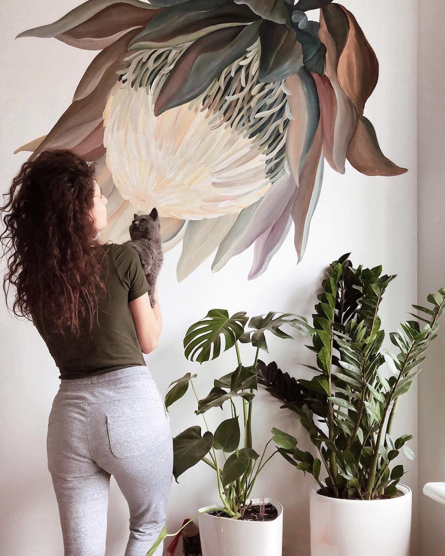 Mural artístico por Lilit Sargsyan