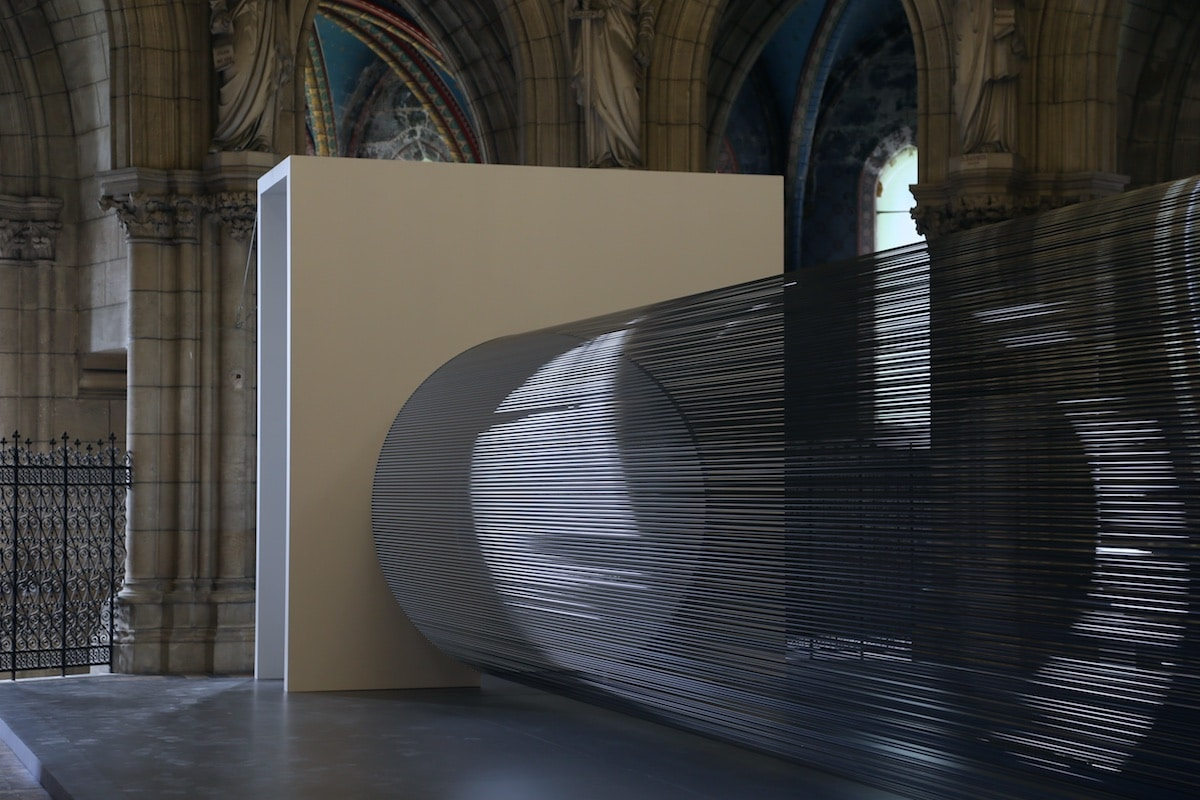 Magnetic Tape Installation by Žilvinas Kempinas